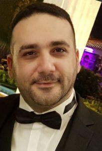شهراد صادقی، دانشجوی دوره سوم