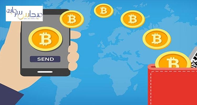 انتقال بیت کوین بهحساب بانکی بهصورت کاملاً عادی